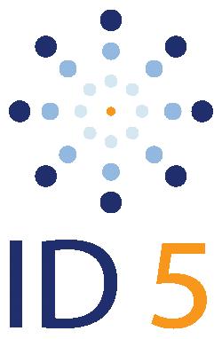 ID5 Logo Vertical ID5 vertical white